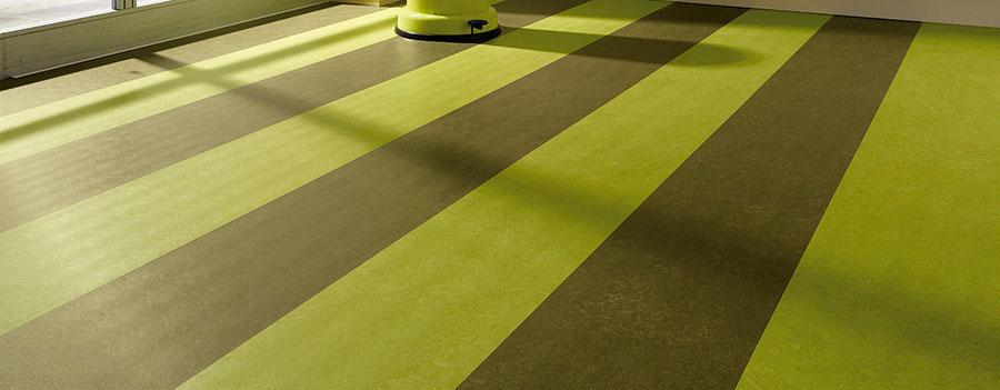 Modello di pavimento in linoleum di design n.17