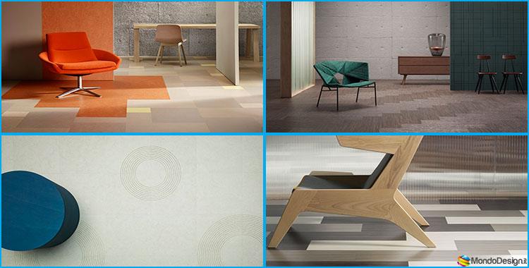 Pavimento in Linoleum: 20 Modelli Ecologici, Resistenti e di Design