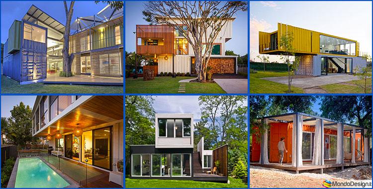 20 case container dal design moderno for Esempi di progetti di case moderne