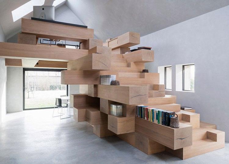 Scaletta In Legno Per Soppalco : Costruire un soppalco fai da te in legno metallo o muratura