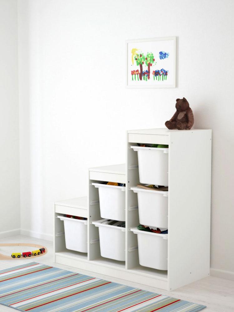 Modello di scala contenitore Ikea 01