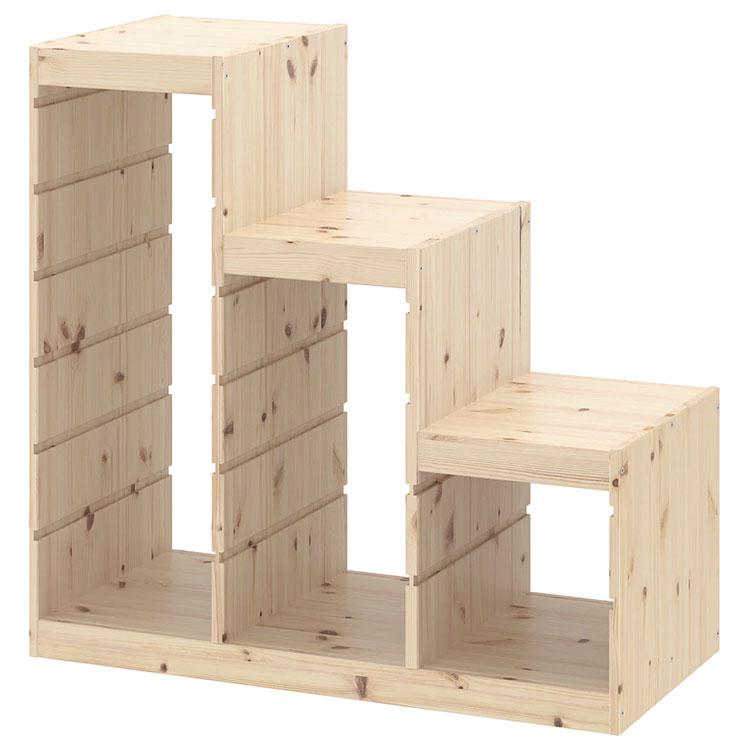 Modello di scala contenitore Ikea 02