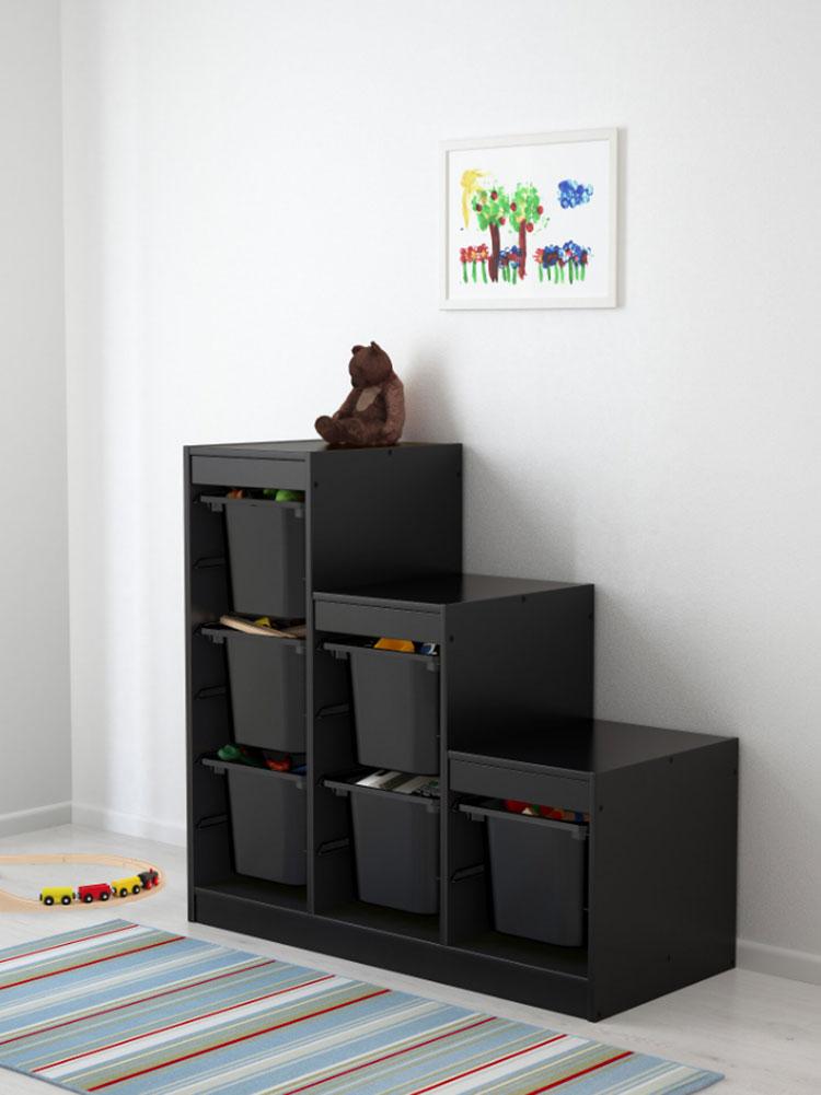 Modello di scala contenitore Ikea 03