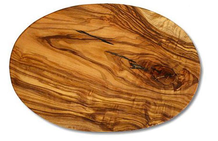 Tagliere in legno di ulivo dal design particolare n.11