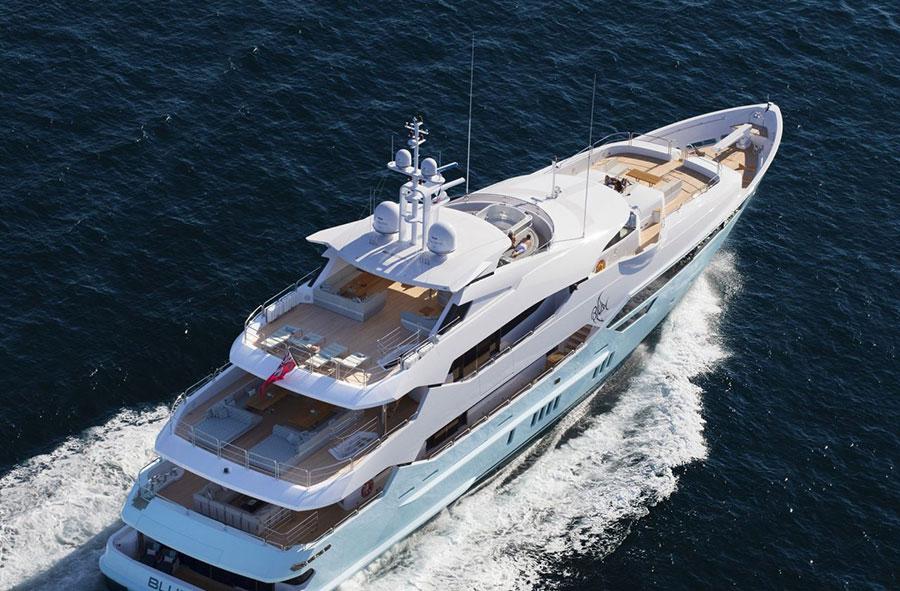 Interni da sogno per uno yacht di lusso n.03
