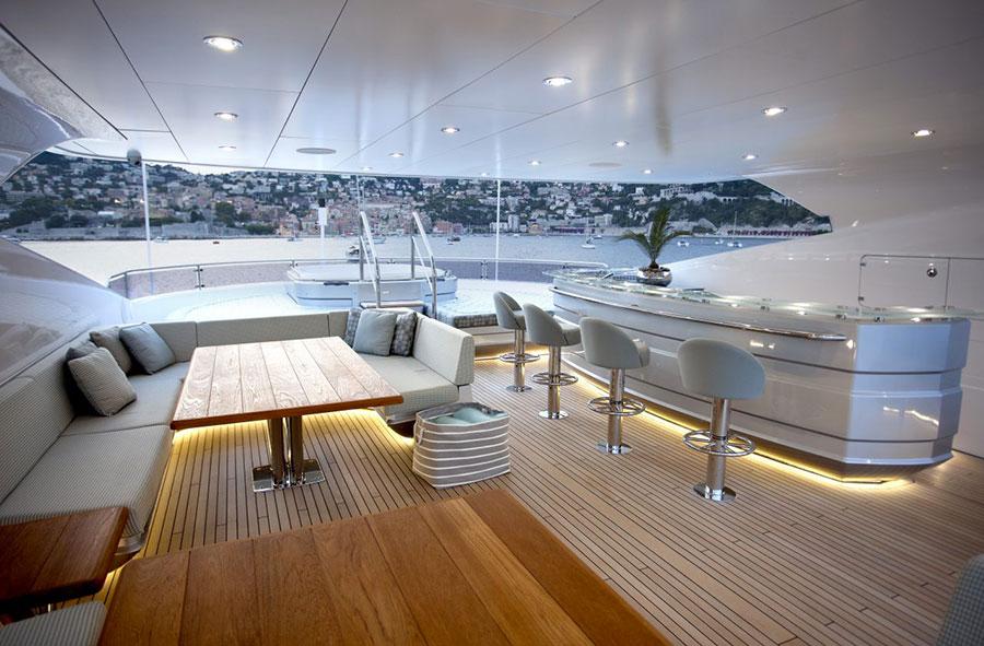 Interni da sogno per uno yacht di lusso n.09