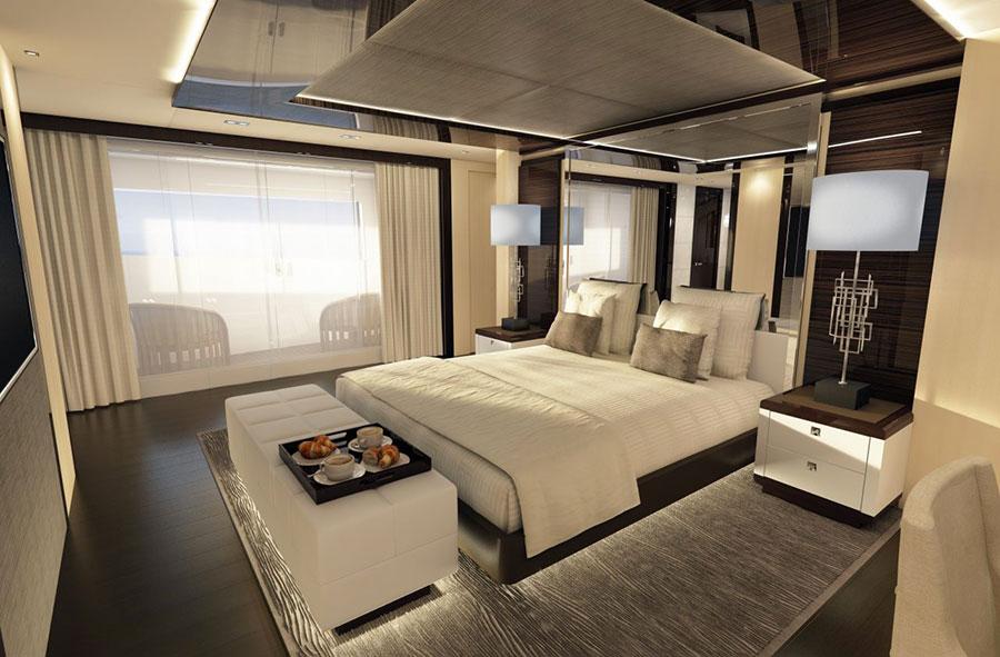 Interni da sogno per uno yacht di lusso n.14