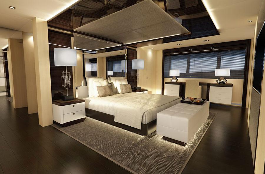 Interni da sogno per uno yacht di lusso n.15