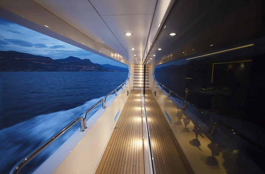 Interni da sogno per uno yacht di lusso n.17