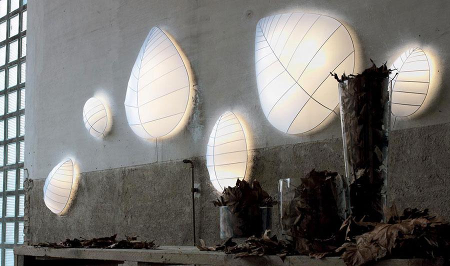 Modello di applique da parete per interni dal design originale n.01