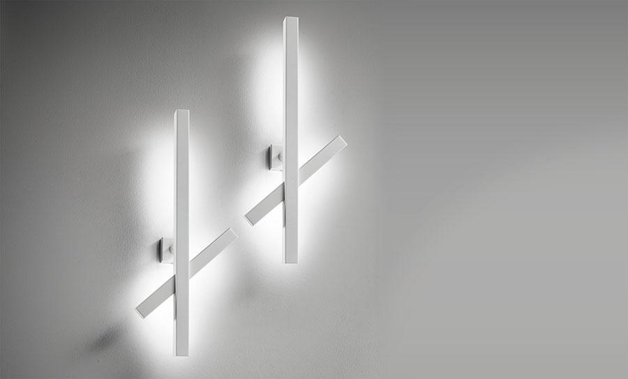 Modello di applique da parete per interni dal design originale n.07
