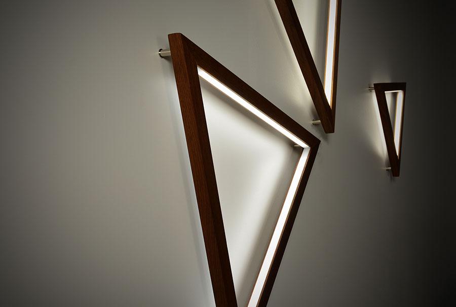 Modello di applique da parete per interni dal design originale n.11