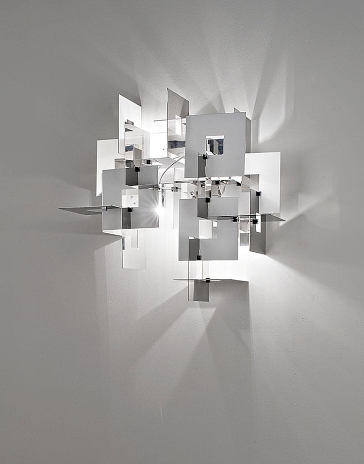 Modello di applique da parete per interni dal design originale n.20