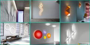 20 modelli originali di applique da parete dal design for Complementi d arredo originali