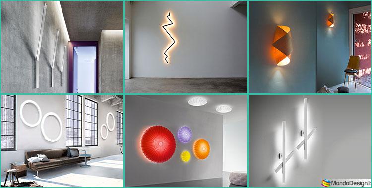 20 modelli originali di applique da parete dal design for Applique da parete moderni