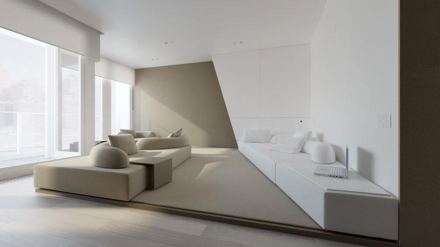 Minimal design ecco come arredare una casa di tendenza for Arredo minimal home