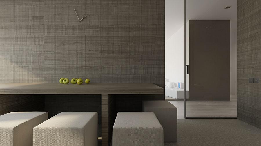 Esempio di arredamento dal design minimal n.06