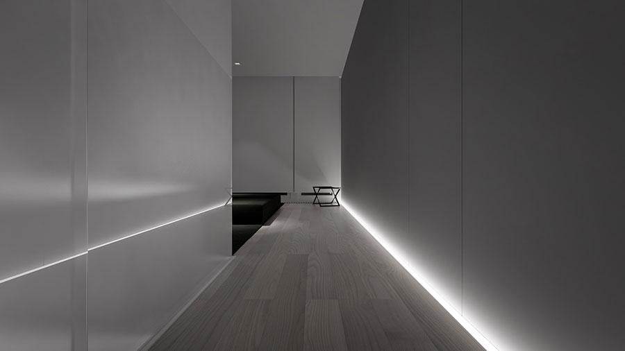 Esempio di arredamento dal design minimal n.09