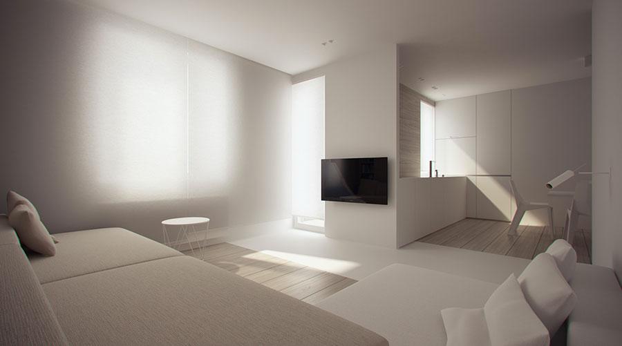 Idee di arredamento per un soggiorno minimal n.19