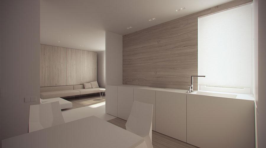 Esempio di arredamento dal design minimal n.13