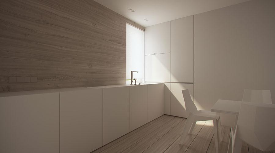 Esempio di arredamento dal design minimal n.14