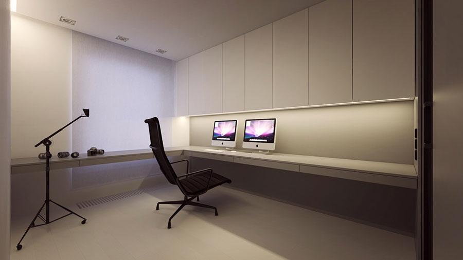 Esempio di arredamento dal design minimal n.22