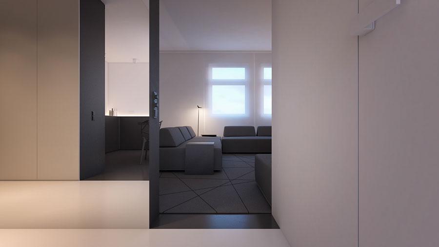 Esempio di arredamento dal design minimal n.28