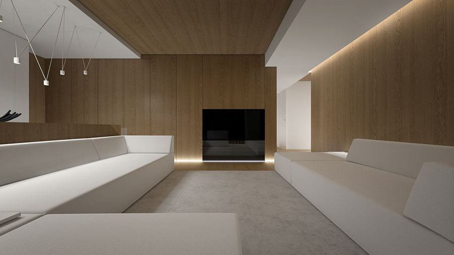Idee di arredamento per un soggiorno minimal n.25