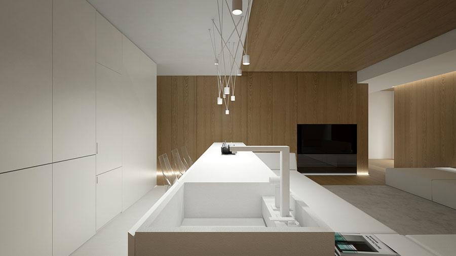 Esempio di arredamento dal design minimal n.33