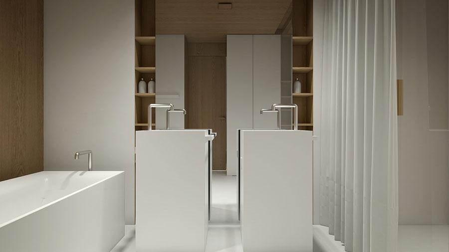 Esempio di arredamento dal design minimal n.36