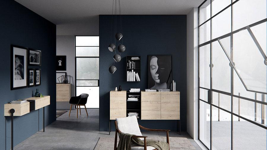 Arredamento con quadro in stile minimal n.03