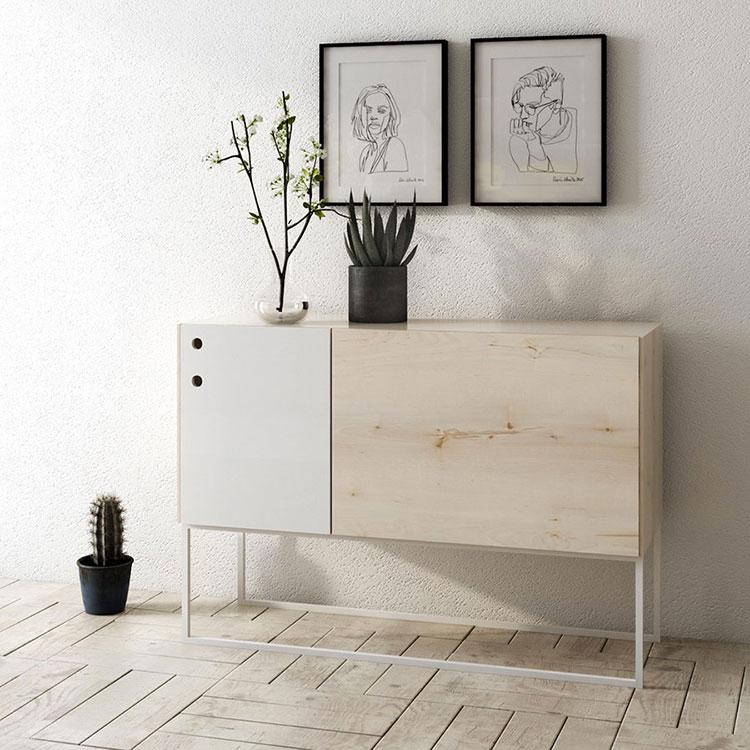 Arredamento con quadro in stile minimal n.06