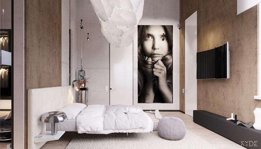 Come arredare coi quadri idee in stile moderno minimal for Arredamento vintage moderno