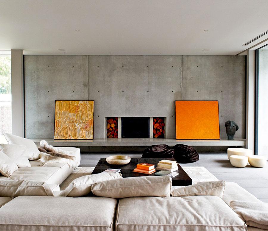Arredamento con quadro in stile moderno n.06