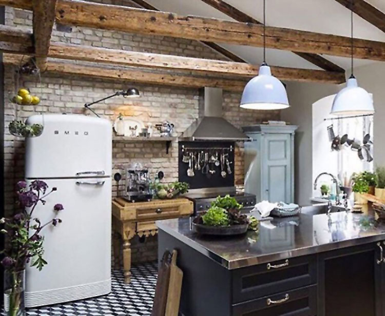 Cucina arredata in stile nordico n.04