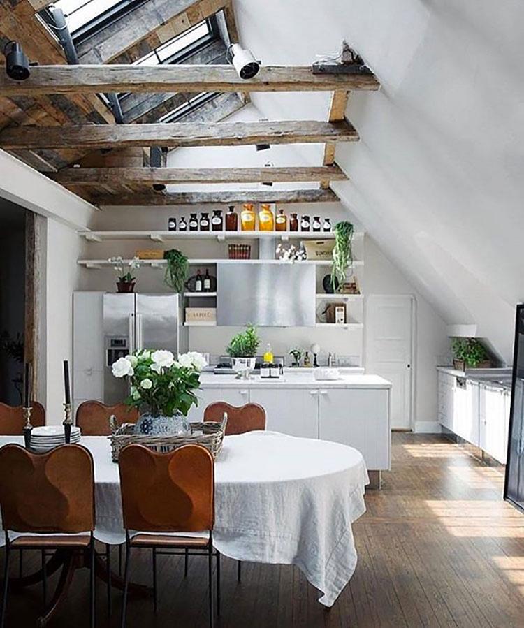 Cucina arredata in stile nordico n.05
