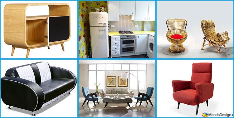Arredamento vintage anni 39 50 caratteristiche di uno stile for Stile vintage arredamento