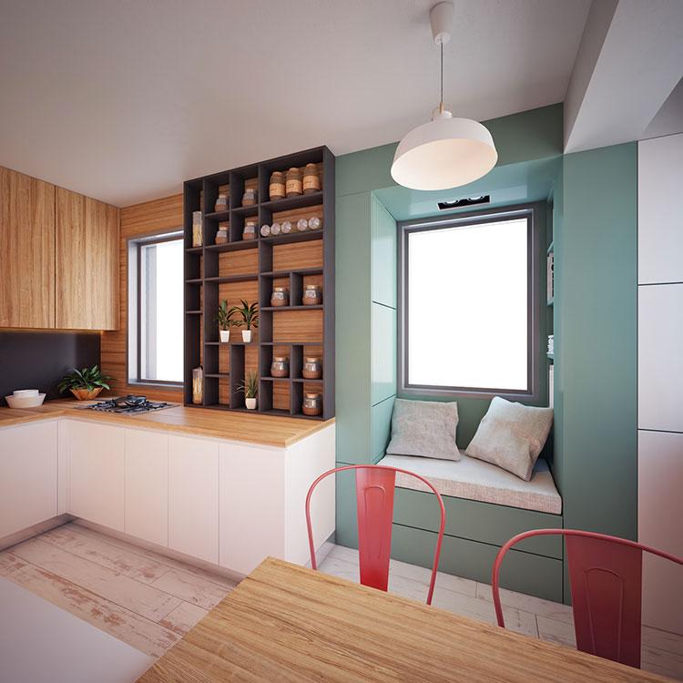 Come arredare una casa di 30 mq 6 progetti di design for Suggerimenti per arredare casa