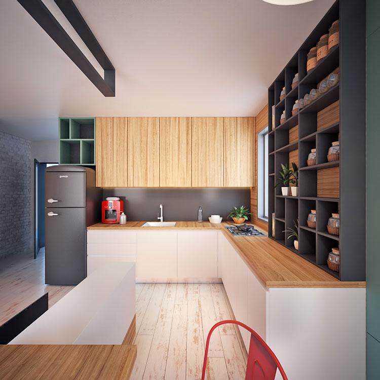 Come arredare una casa di 30 mq 6 progetti di design for Arredare appartamento