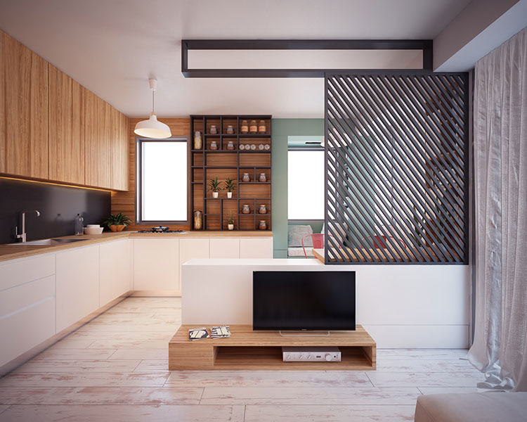 Come arredare una casa di 30 mq 6 progetti di design for Casa di 1200 metri quadrati