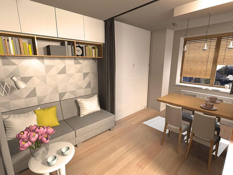 Come arredare una casa di 30 mq 6 progetti di design for Come finanziare una casa