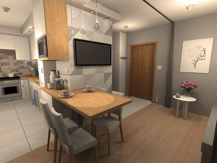Come arredare una casa di 30 mq 6 progetti di design for Idee appartamento