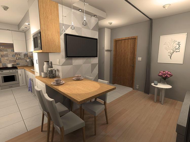Idee per arredare una casa di 30 mq n.16
