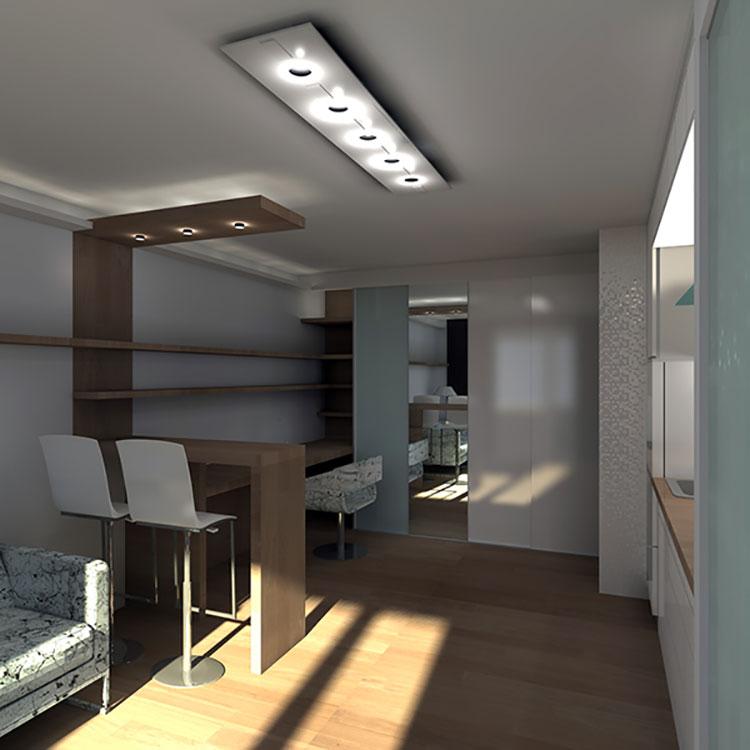 Come arredare una casa di 30 mq 6 progetti di design for Progetti di case piccole