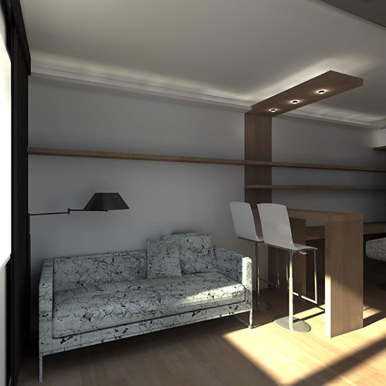 Idee per arredare una casa di 30 mq n.28