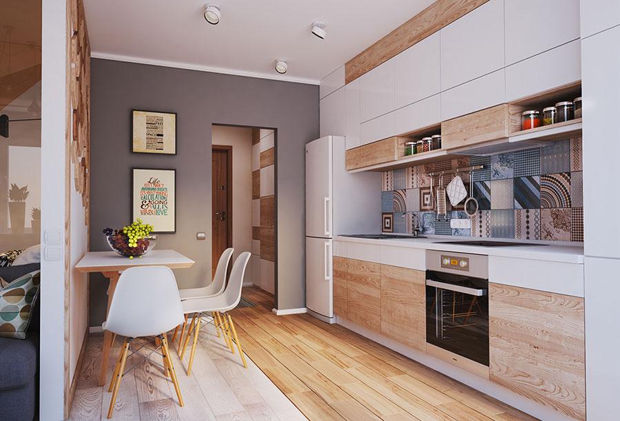 Appartamento di 40 mq con arredi di design n.05