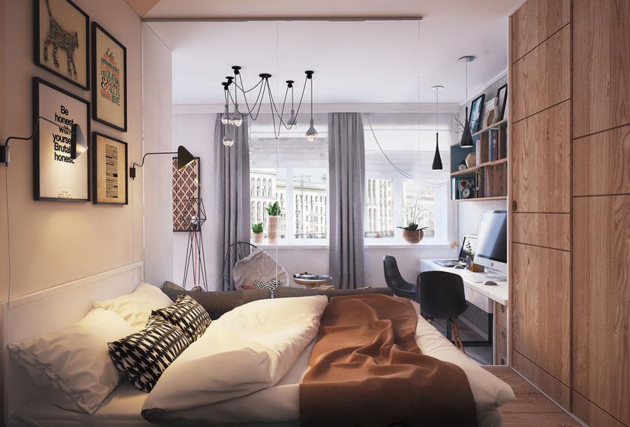 Appartamento di 40 mq con arredi di design n.06