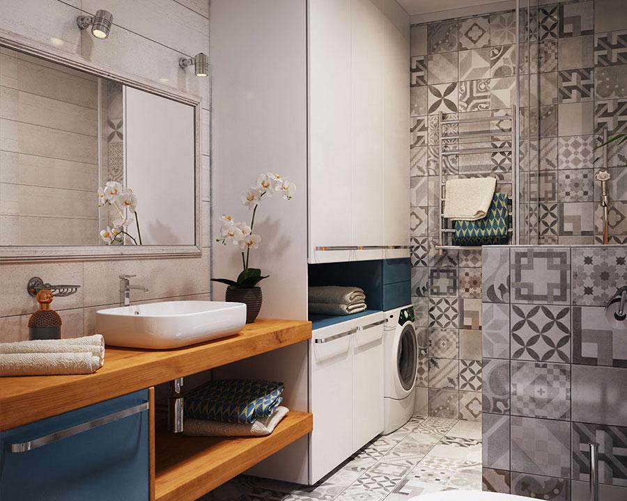 Appartamento di 40 mq con arredi di design n.07