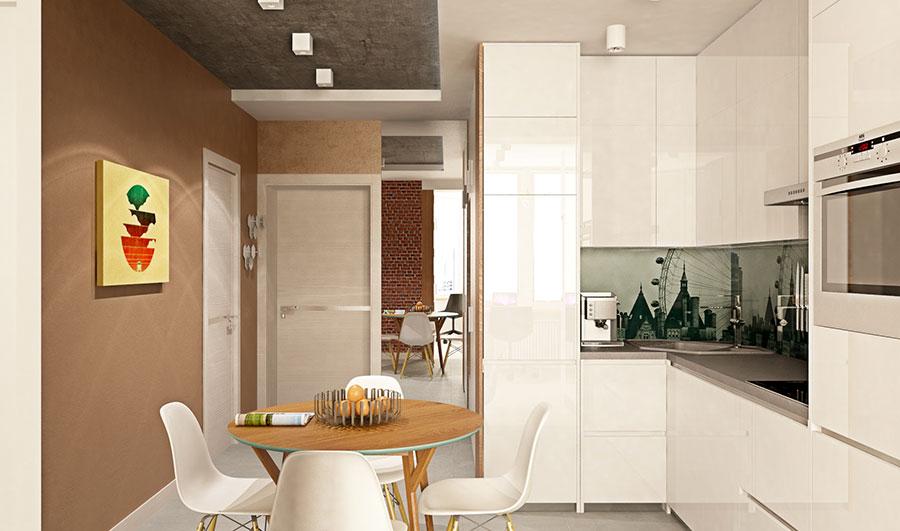 Appartamento di 40 mq con arredi di design n.13