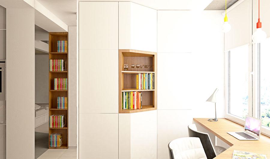 Appartamento di 40 mq con arredi di design n.15